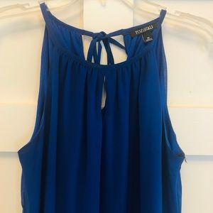 Roz&Ali royal blue dress